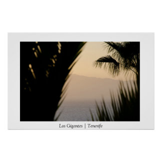 Los Gigantes | Tenerife | Canary Islands | Poster