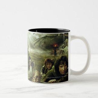 LOTR Movie Poster Art Two-Tone Mug