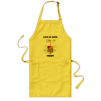 Lots Of Guts Inside (Digestive System) Long Apron