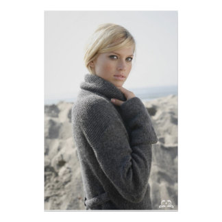 Lotti B Grey Sweater Poster