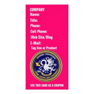 Louisiana Bicentennial 1812-2012 Please View Hints Customised Photo Card