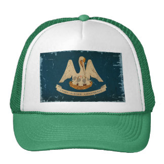 Louisiana State Flag VINTAGE.png Cap