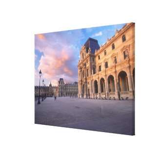 Louvre, Paris, France Gallery Wrapped Canvas