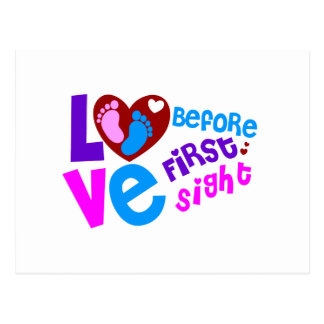 Love Before First Sight Postcard