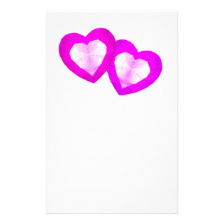 Love Hearts Stationery Paper