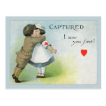 Love I Saw you First Postcard