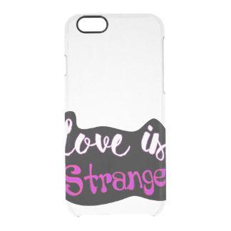 Love is Strange iPhone Case