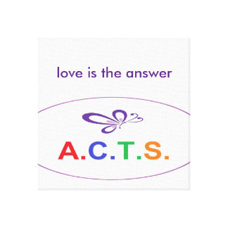 Love Is The Answer Wrapped Canvas Canvas Prints