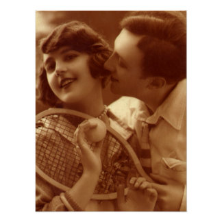 Love Means Nothing in Tennis Poster