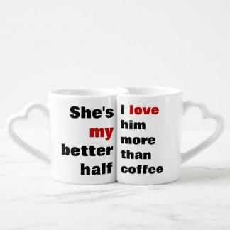 love more than coffee lovers mug