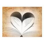Love of Books Postcard