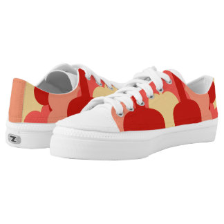 Love of music printed shoes