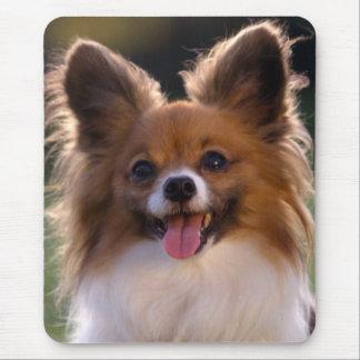 Love Papillon Puppy Dog Mousepad