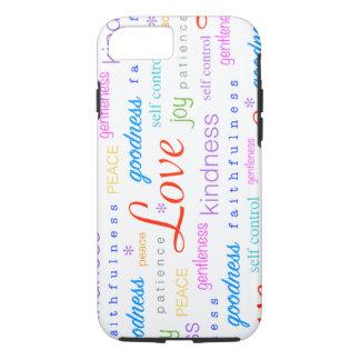 Love PEACE Joy Fruit of the Spirit Colorful iPhone 7 Case