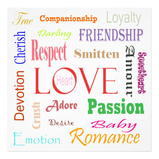Love Synonyms by Shirley Taylor Photograph
