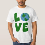 Love the Mother Earth Planet T Shirts