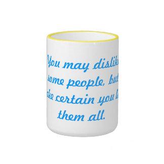Love them all ringer mug