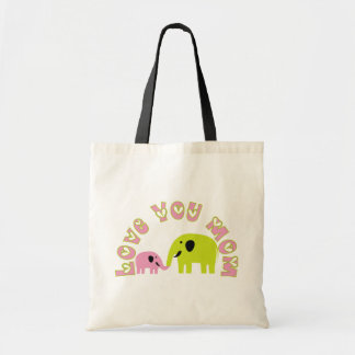 Love You Mom Tote  Bags