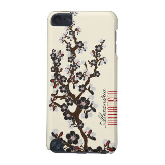 Lovely Cherry Blossoms iPod Touch Case (black)