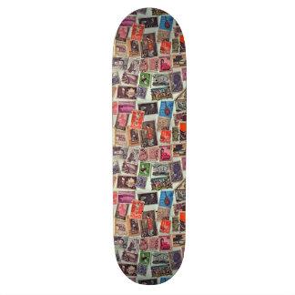 Lovely Stamps Skateboard