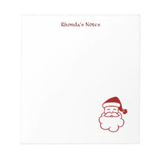 Low Cost Holiday Fun Personal Notepad