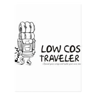 Low Cost Traveler Postcard