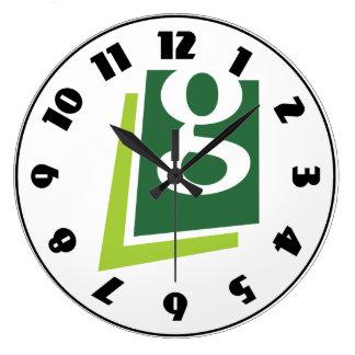Lowercase G Clock