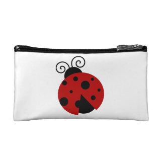 Luck be a Ladybug Cartoon Makeup Bag