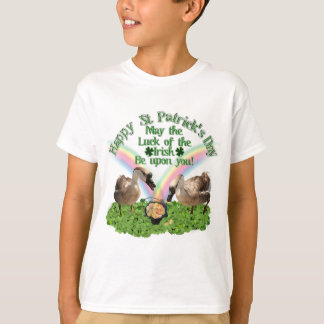Lucky St. Patrick's Day Geese Tshirt