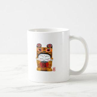 Lucky Tiger Baby Basic White Mug