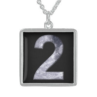 Lucky Two Lunar Symbol Design Necklace