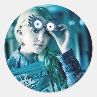 Luna Lovegood Round Sticker