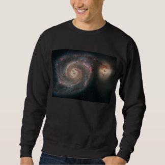 M51 Whirlpool Galaxy Pullover Sweatshirt