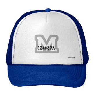 M is for Mina Cap