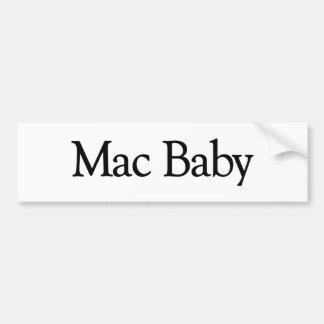 Mac Baby Bumper Sticker