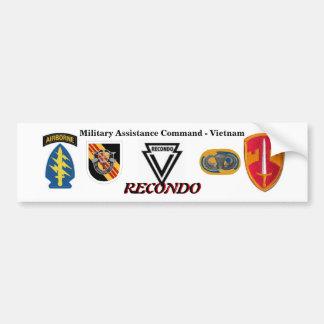 MAC-V RECONDO Bumper Sticker