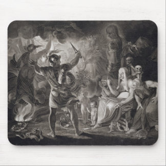 Macbeth, the Three Witches and Hecate in Act IV, S Mouse Pad