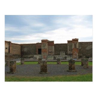 Macellum (Markets) in Ancient Pompeii Postcard