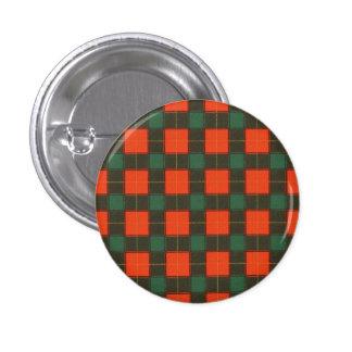 Macfie clan Plaid Scottish tartan 3 Cm Round Badge