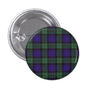 Mackay clan Plaid Scottish tartan 3 Cm Round Badge