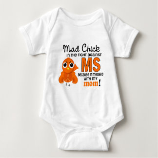 Mad Chick 2 Mom Multiple Sclerosis MS Tees