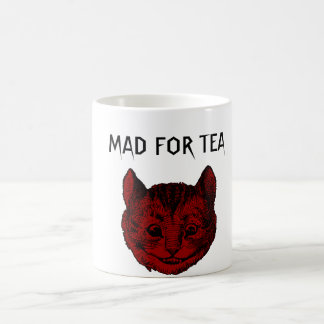 Mad For Tea Cheshire Cat Morphing Mug