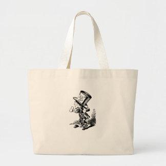 Mad Hatter - Alice In Wonderland Jumbo Tote Bag
