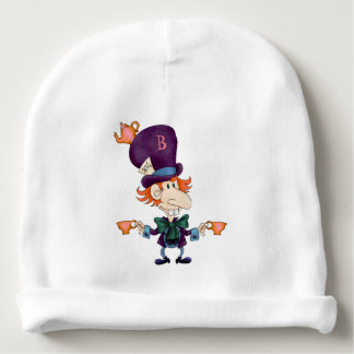 Mad Hatter Tea for Two Personalized Baby Beanie