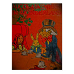 Mad Hatter's Tea Party Postcard