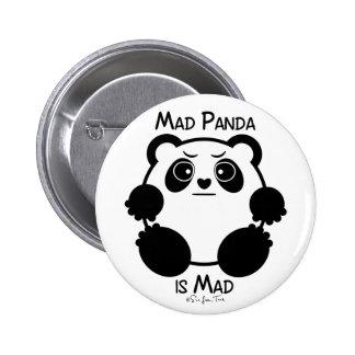 Mad Panda 6 Cm Round Badge