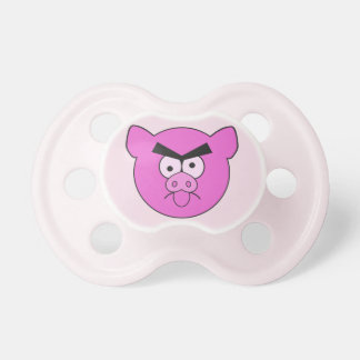 Mad Pig custom pacifier