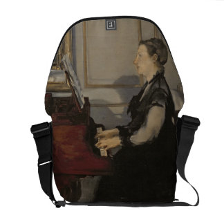 Madame Manet at the Piano, 1868 Commuter Bags