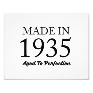 Made In 1935 Art Photo
