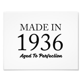 Made In 1936 Photo Print